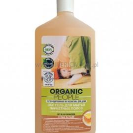 Żel do Czyszczenia Parkietów  z Organicznym Woskiem Pszczelim, Organic People, 500ml