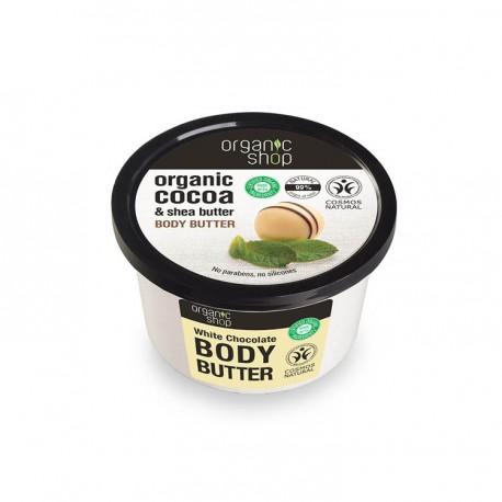 Masło do Ciała, Biała Czekolada, 250ml