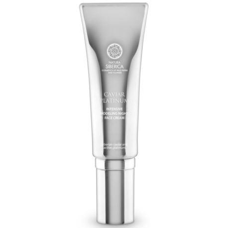 Intensywnie Modelujący Krem na Noc, Caviar Platinum, 30ml