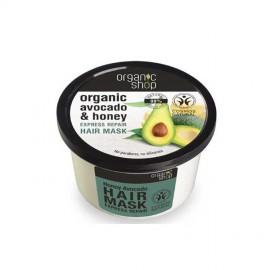 Organiczne Awokado i Miód, Ekspresowa Regeneracja, 250ml