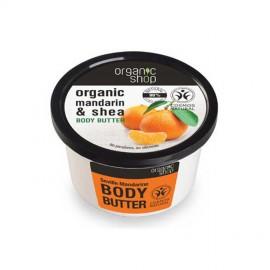 Mandarynkowe, Organiczne Masło do Ciała, 250ml