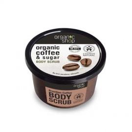 Cukrowy Peeling do Ciała, Brazylijska Kawa, 250ml