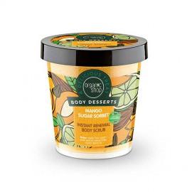 Odnawiający, Cukrowy Peeling do Ciała, Sorbet Mango, 450ml