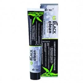 Czarna Pasta do Zębów z Cząsteczkami Węgla Aktywnego, Wybielająca, Black Clean, 85gl