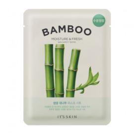 Nawilżająca Maseczka do Twarzy z Bambusem, 19g