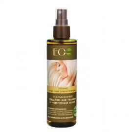 Wygładzający Spray do Układania i Prostowania Włosów, Wzmocnienie, 200ml