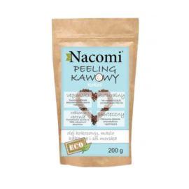 Kawowy, Suchy Peeling do Ciała, Kokos, Nacomi 200g