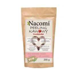 Kawowy, Suchy Peeling do Ciała, Truskawka, Nacomi, 200g