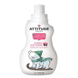Bezzapachowy, Płyn do Płukania Ubranek Dziecięcych, Attitude Little Ones, 1000ml