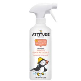 Bezzapachowy Spray do Usuwania Uporczywych Plam z Dziecięcych Ubranek, Attitude Little Ones, 475ml