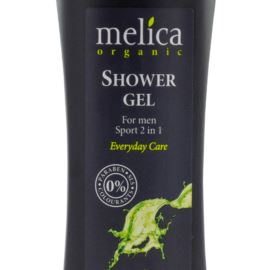 Żel Pod Prysznic Dla Mężczyzn, 2w1, Melica Organic, 250ml