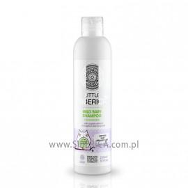 delikatny szampon dla niemowląt  z organicznym ekstraktem z dzięgielu i mydlnicy lekarskiej