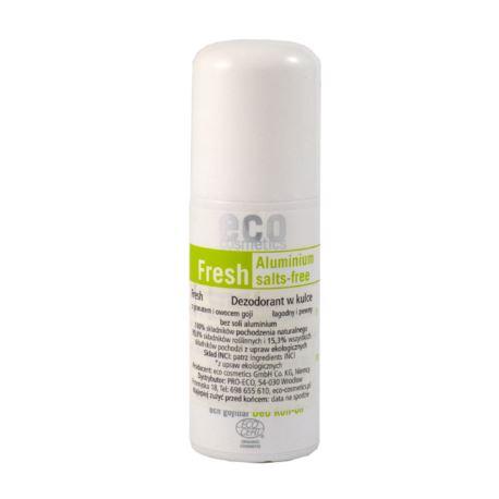 Dezodorant w Kulce z Granatem i Jagodami Goi, Ecocosmetics, 50ml