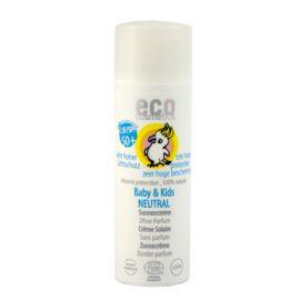 Neutralny Krem Przeciwsłoneczny SPF 50+ dla Dzieci i Niemowląt, Eco Cosmetics, 50ml