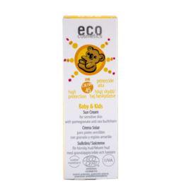 Krem Przeciwsłoneczny SPF 45 dla Dzieci i Niemowląt, Eco Cosmetics, 50ml