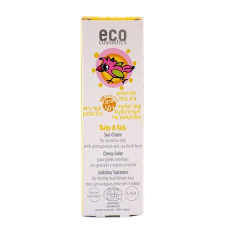 Krem Przeciwsłoneczny SPF 50+ dla Dzieci i Niemowląt, Eco Cosmetics, 50ml
