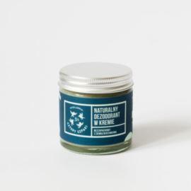Naturalny, Bezzapachowy Dezodorant w Kremie, Mydlarnia Cztery Szpaki, 60ml