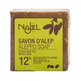 Mydło Aleppo 12% Oleju Laurowego, Najel, 170g