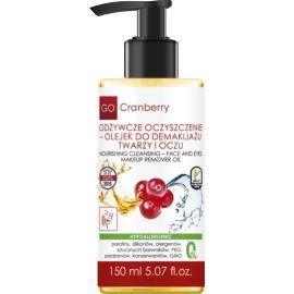 Olejek do Demakijażu Twarzy i Oczu, Odżywcze Oczyszczenie, Go Cranberry, 150ml