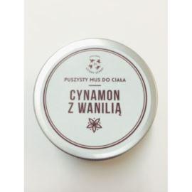 Puszysty Mus do Ciała, Cynamon z Wanilią, Mydlarnia Cztery Szpaki, 150ml