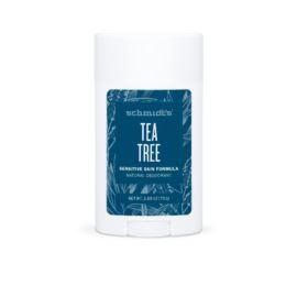 Dezodorant w Sztyfcie do Skory Wrażliwej, z Drzewem Herbacianym, Schmidt's, 92g