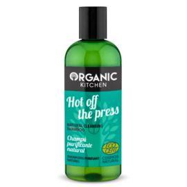 Oczyszczający Szampon do Włosów Gorąco z Prasy, Organic Kitchen, 260ml