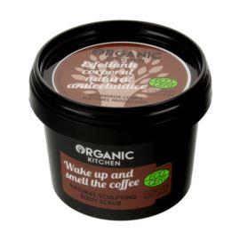 Modelujący Scrub do Ciała Obudź się i Poczuj Zapach Kawy, Organic Kitchen, 100ml