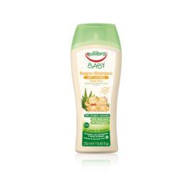Łagodny Szampon Aloesowy, do Włosów i Ciała, dla Dzieci od 0m+ Equilibra, 250 ml