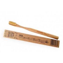 Bambusowa Szczoteczka do Zębów, Naturalna – Średnia, Mohani