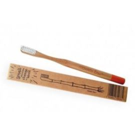 Bambusowa Szczoteczka do Zębów, Pomarańczowa – Miękka, Mohani