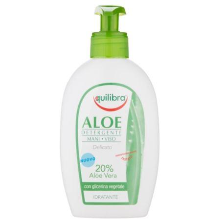 Aloesowy Żel Oczyszczający, do Twarzy i Rąk, Equilibra, 300 ml