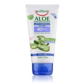 Mleczko po Opalaniu z 40% Aloesem, do Ciała, Equilibra, 75 ml