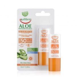 Aloesowy Sztyft Przeciwsłoneczny, SPF 50+, do Twarzy, Equilibra, 10 ml