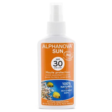 Spray Przeciwsłoneczny, SPF 30, Alphanova Sun, 125 g