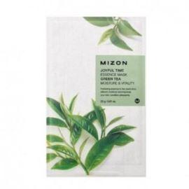 Maseczka do Twarzy w Płacie, z Zieloną Herbatą, Joyful Time, Mizon, 23g
