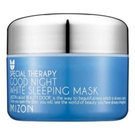 Całonocna Maska/Krem do Twarzy, Good Night White Sleeping Mask, Mizon, 80ml