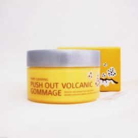 Oczyszczająca maska do twarzy, Pore Clearing Push Out Volcanic Gommage, Mizon, 60g