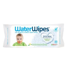 Nawilżone Chusteczki, dla Dzieci, z Orzechami Mydlanymi, Soapberry, WaterWipes, 60szt