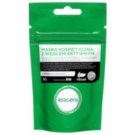 Maska Kosmetyczna z Węglem Aktywnym, Ecocera, 50 g