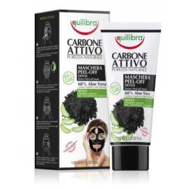 Maska oczyszczająca peel-off z węglem aktywnym, Equilibra, 100 ml