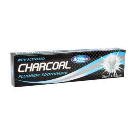 Pasta do Mycia Zębów z Węglem Aktywnym, Beauty Formulas, 125 ml