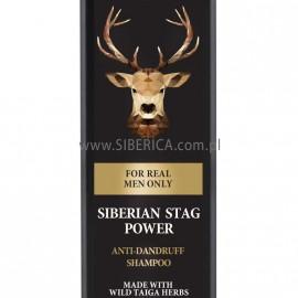 Siberian Stag Power anti-dandruff shampoo, 250ml
