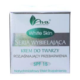 Rozjaśniający Krem do Twarzy, z SPF 15, White Skin, Ava Laboratorium, 50ml