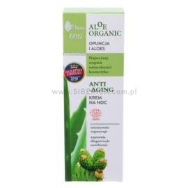 Anti-Aging Krem na Noc, Opuncja i Aloes, Aloe Organic, Ava Laboratorium, 50ml