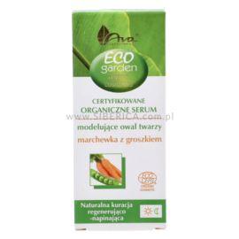 Ujędrniające Organiczne Serum do Twarzy, Marchewka z Groszkiem, Eco Garden, Ava Laboratorium, 30ml