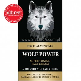 Tonizujący Krem do Twarzy Wolf Power, 50ml