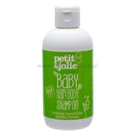 Szampon do Mycia Włosów i Ciała, dla Dzieci, Petit & Jolie, 200 ml