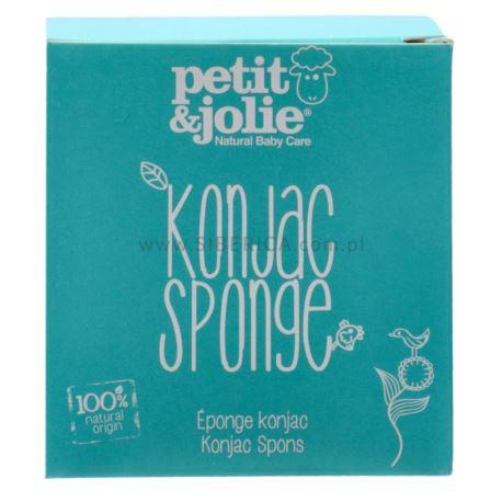 Gąbka Konjac do Mycia Ciała, dla Dzieci, Petit & Jolie