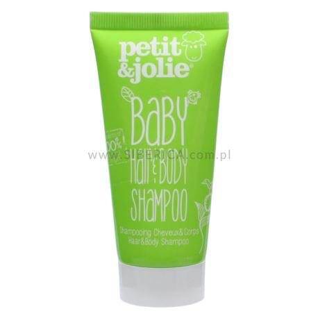 Szampon do Mycia Włosów i Ciała, dla Dzieci, Petit & Jolie, 50 ml