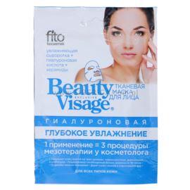 Nawilżająca Maseczka Hialuronowa do Twarzy w Płacie, Beauty Visage, Fitocosmetics, 25ml